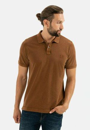 KURZARM - Poloshirt - warm brown