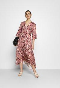Closet - A-LINE MIDI DRESS - Day dress - pink - 1