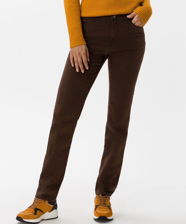 STYLE MARY - Jean slim - brown
