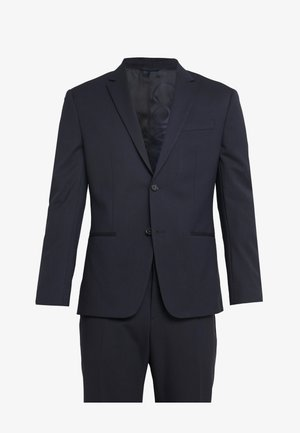 TRAVEL BI-STRETCH TWILL SLIM SUIT - Oblek - blue