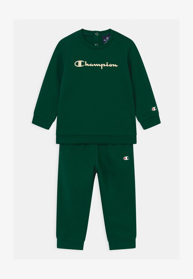 BASIC LOGO TODDLER CREWNECK SET UNISEX - Träningsset - dark green