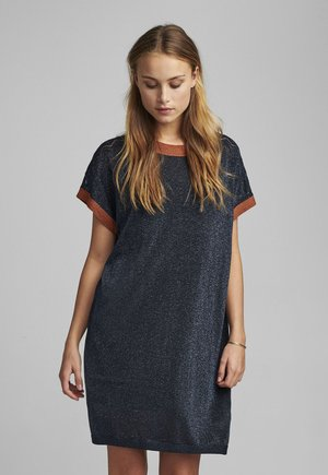 NUBELINDA DRESS - Day dress - dark blue