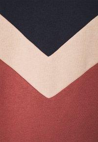 ONLY - ONLDAKOTA O NECK DRESS - Day dress - apple butter/mahogany rose/night - 2