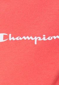 Champion - CREWNECK - Jednoduché triko - coral - 6