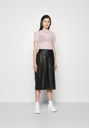 ELFRIDA TURTLENECK - T-shirts med print - dusty pink