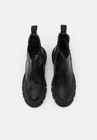 NA-KD - BOOTS - Platform ankle boots - black - 5