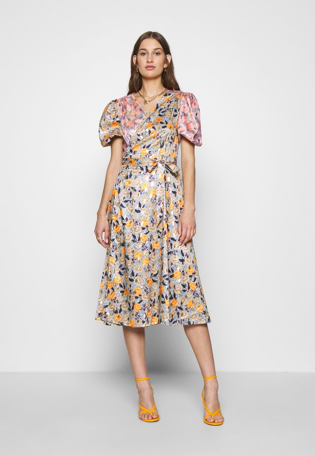 ZSA ZSA SPLICED DRESS - Cocktailjurk - multi coloured
