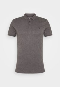 Pier One - MUSCLE FIT - Polo - dark gray - 4