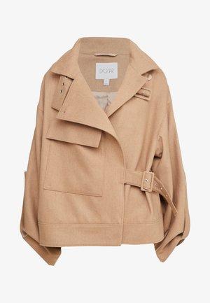 JAQUELINE - Light jacket - camel