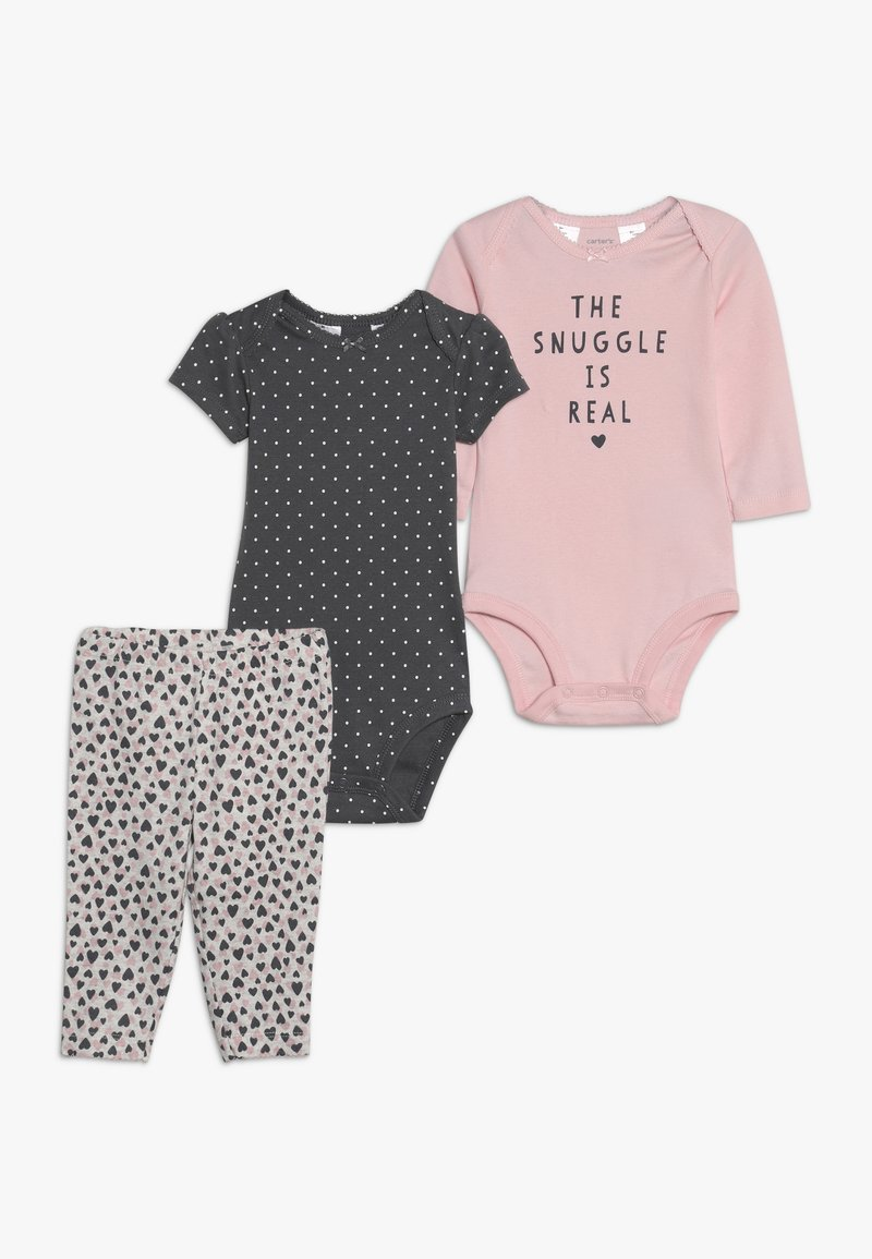 Carter's - GIRL RERUN BABY SET - Body - pink