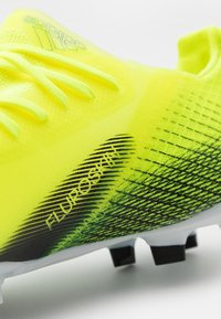 adidas Performance - X GHOSTED.1 FG UNISEX - Moulded stud football boots - solar yellow/core black/royal blue - 5