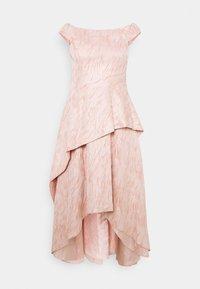 Adrianna Papell - TEXTURED DRAPED GOWN - Festklänning - blush - 0