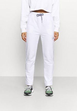PANT - Teplákové kalhoty - white