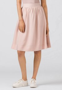 HALLHUBER - Pleated skirt - zartrosa - 2