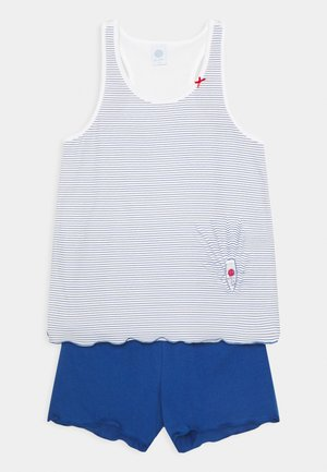 TEENS SHORT PRINT SET UNISEX - Pyjamas - blau