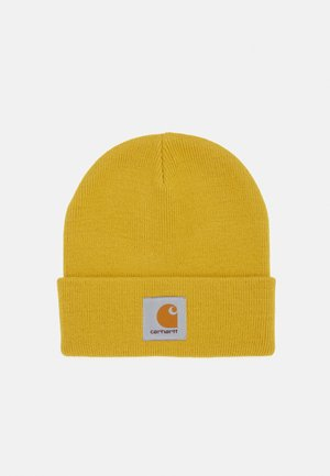 SHORT WATCH HAT UNISEX - Beanie - colza