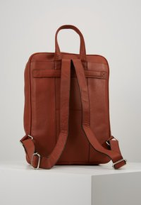 Still Nordic - THOR BACKPACK - Reppu - cognac - 2