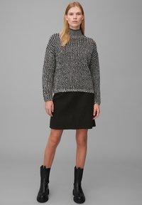 Marc O'Polo - A-line skirt - black - 1
