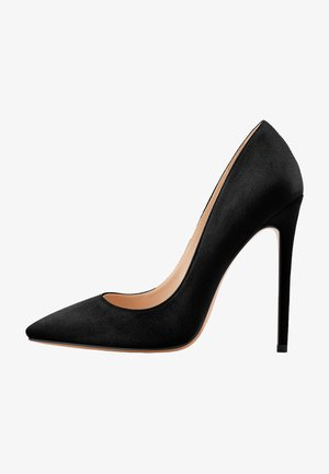 High heels - mottled black