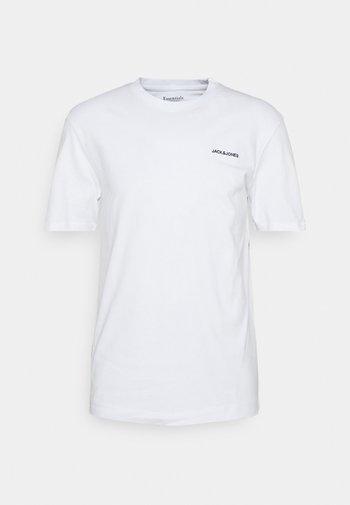 TEE O NECK - Basic T-shirt - white