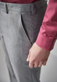 Next - Pantaloni eleganti - mottled grey - 1