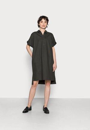 WAJONI - Shirt dress - black oliv