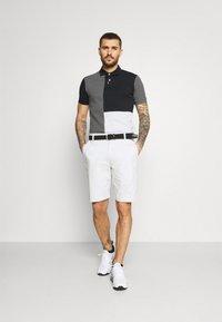 Nike Golf - Polo shirt - black/charcoal heathr/dark grey - 1