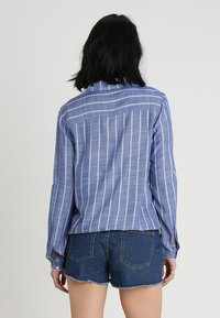 TOM TAILOR - ELASTIC WAIST - Blouse - dark blue