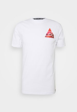 TRIANGLE - T-shirt med print - white