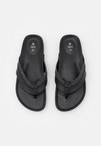 Call it Spring - VEGAN JAIME - T-bar sandals - black - 3