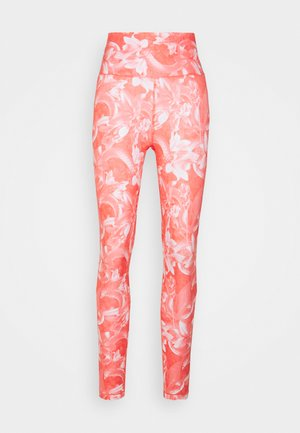 TRAIN - Leggings - georgia peach/fiery coral