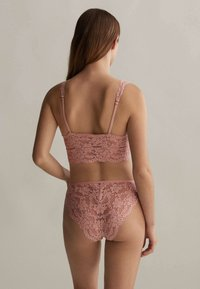OYSHO - WITH REMOVABLE CUPS - Bustier - rose - 1