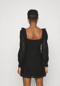 Fashion Union - DRESS - Cocktail dress / Party dress - black - 2