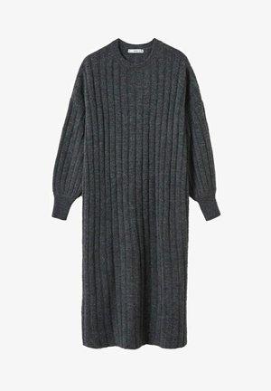 CANALI-I - Jumper dress - gris chiné foncé