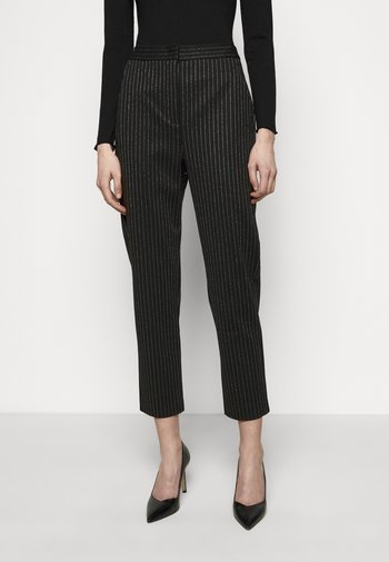 PRIMATO - Kalhoty - black pattern