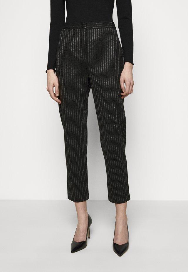 PRIMATO - Spodnie materiałowe - black pattern