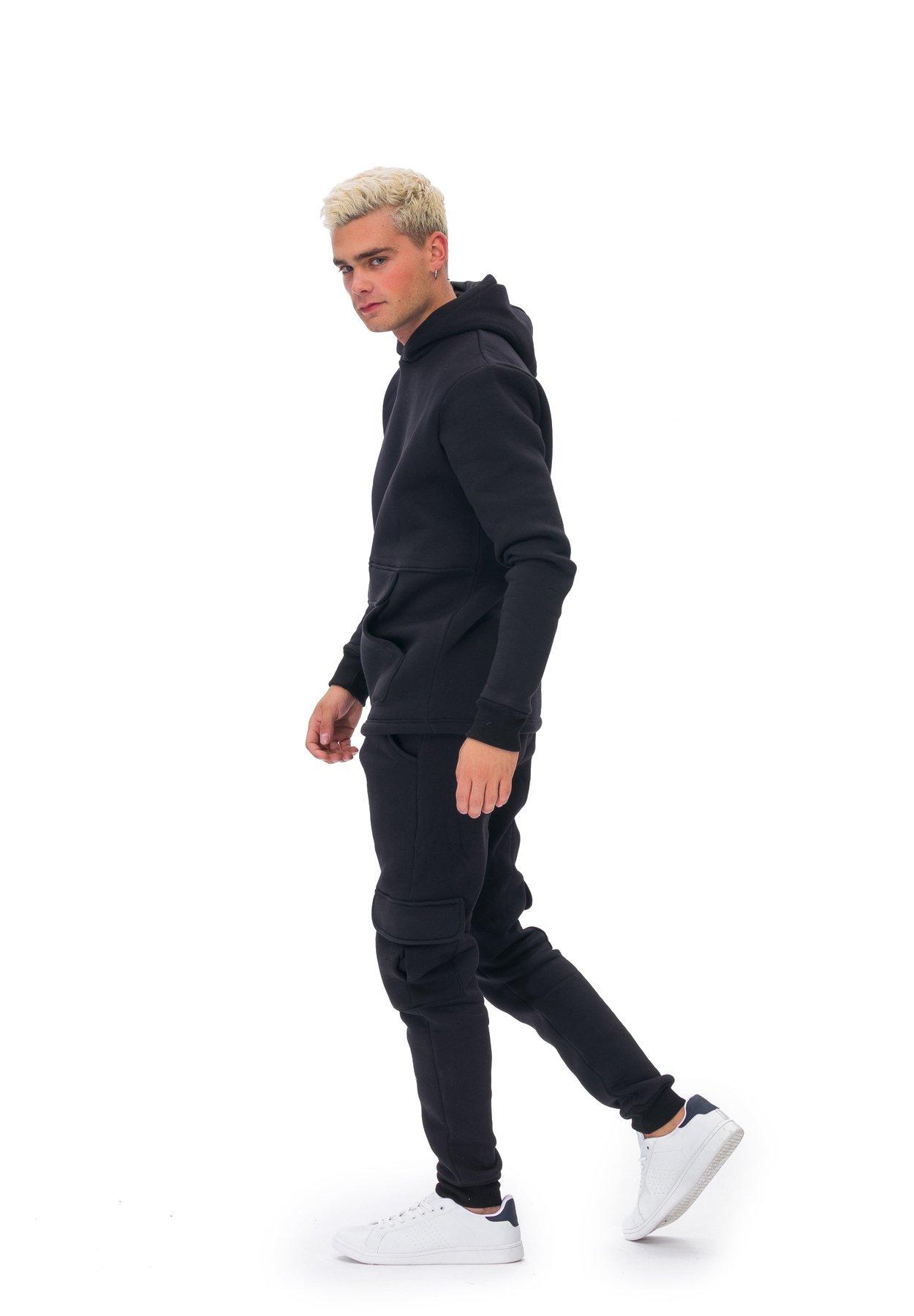 Tom Barron JUMPSUIT MAN TRACKSUITS - Sweatshirt - black