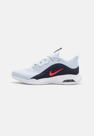 AIR MAX VOLLEY - Multicourt tennis shoes - football grey/bright crimson