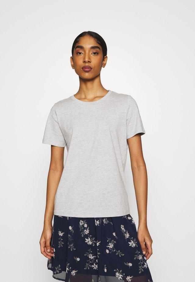 KIMMA - T-Shirt basic - light grey melange