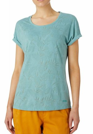MARYSSA - Print T-shirt - blue aqua