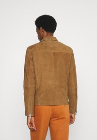 Selected Homme - Giacca di pelle - rubber - 2