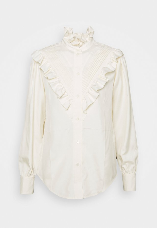VICTORIAN DETAIL BLOUSE - Blouse - off white