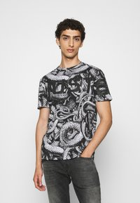 Just Cavalli - Print T-shirt - black/white - 0