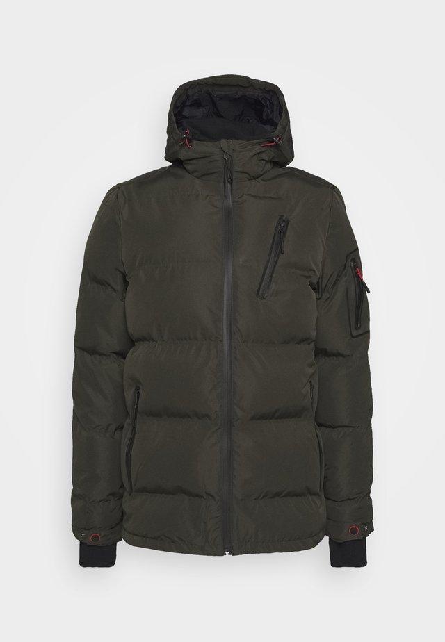 VOGAR  - Hardshell jacket - dunkeloliv