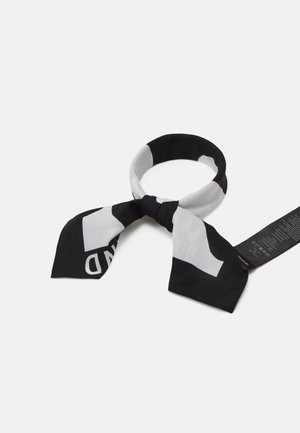 KIOSKI ETEVÄ LOKKI SCARF - Foulard - black/white