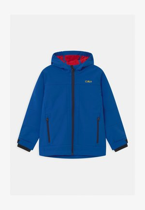 KID FIX HOOD UNISEX - Softshellová bunda - royal ferrari