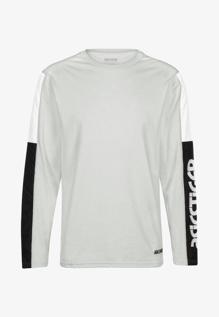 ASICS SportStyle - T-shirt à manches longues - glacier grey heather