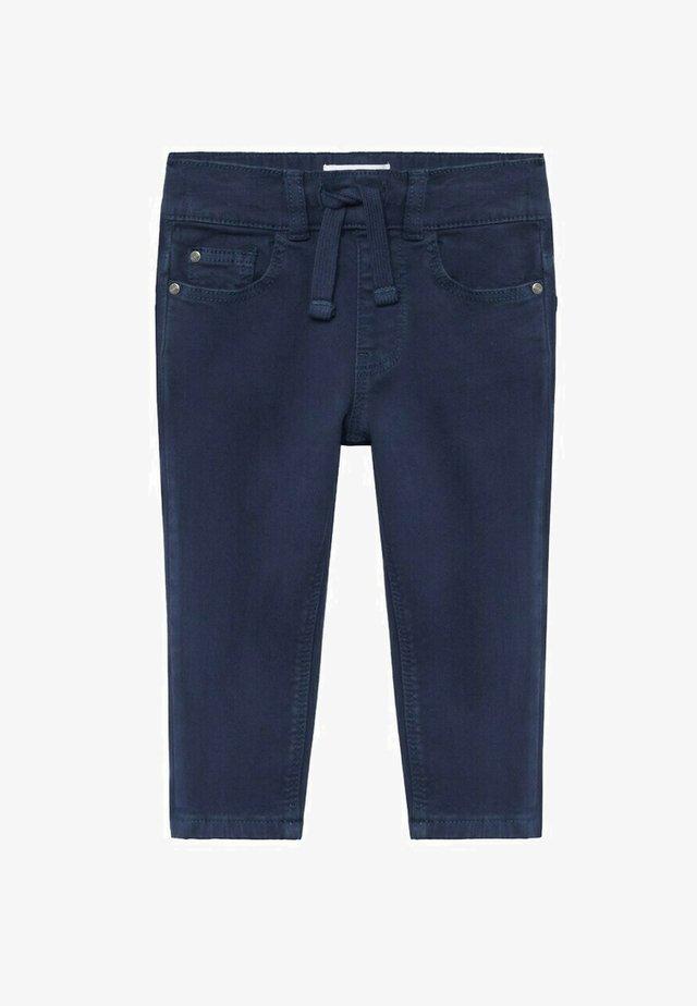 CORD8 - Trousers - bleu marine foncé