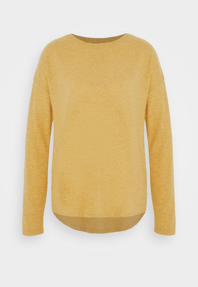 LANGARM - Pullover - golden yellow melange