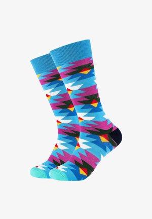 2 PACK PATTERNED - Socks - french blue